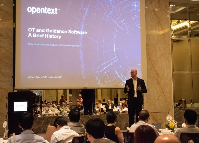 Bounga/Opentext Westin Breakfast event