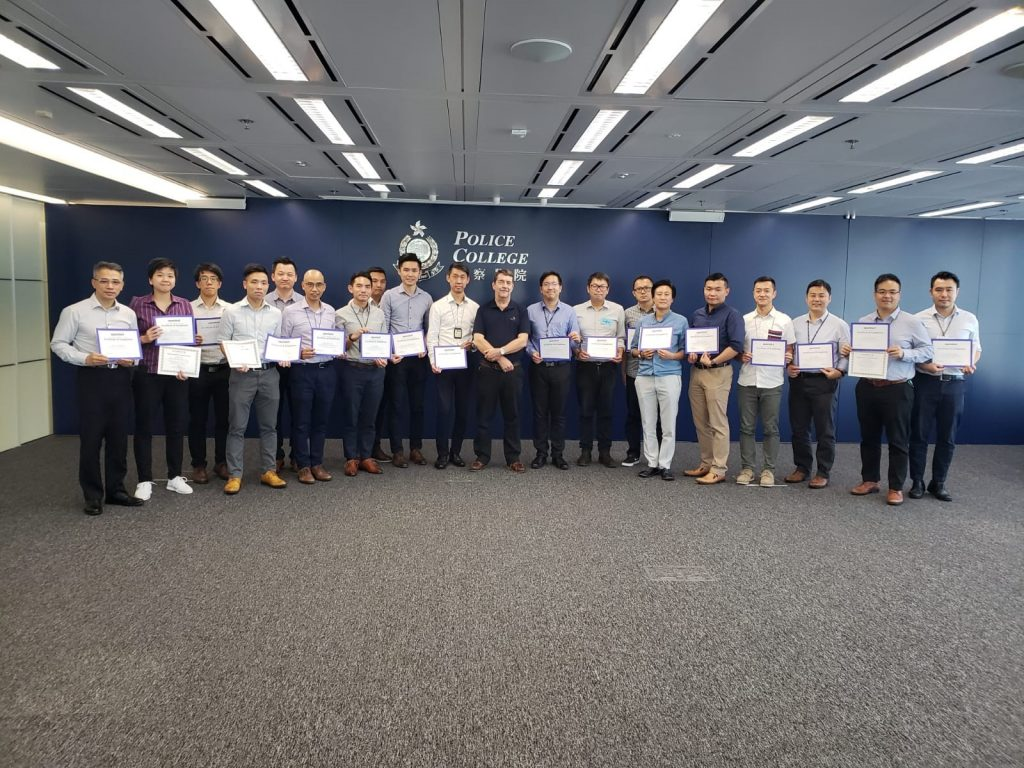 Hong Kong Police Encase Training